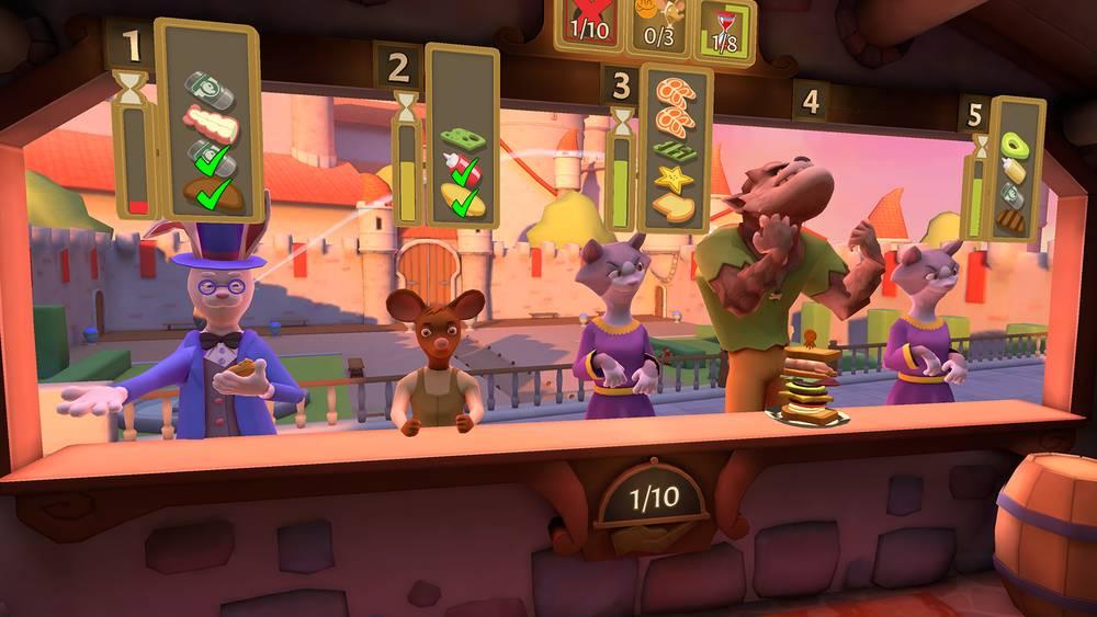 Oculus Quest 游戏《Cook-Out: A Sandwich Tale》快乐厨房插图
