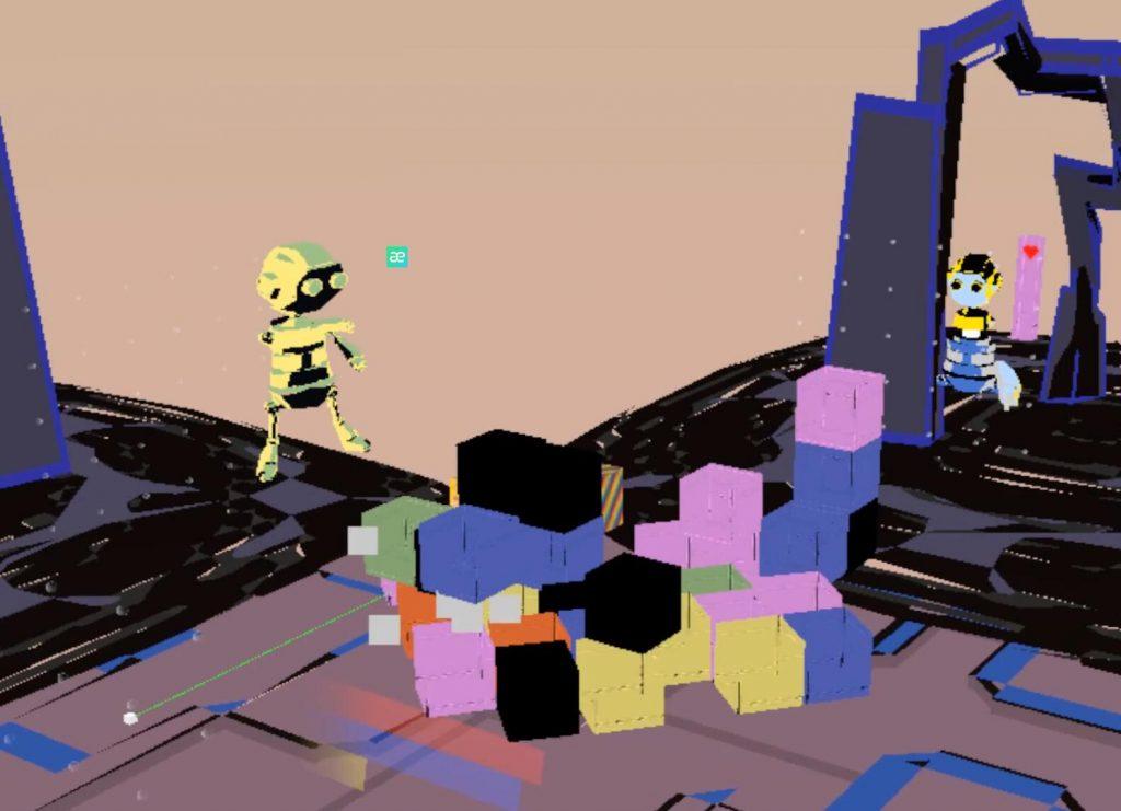 Oculus Quest游戏《Blockami VR》VR打砖块(Oculus Quest VR 手部追踪)插图(1)