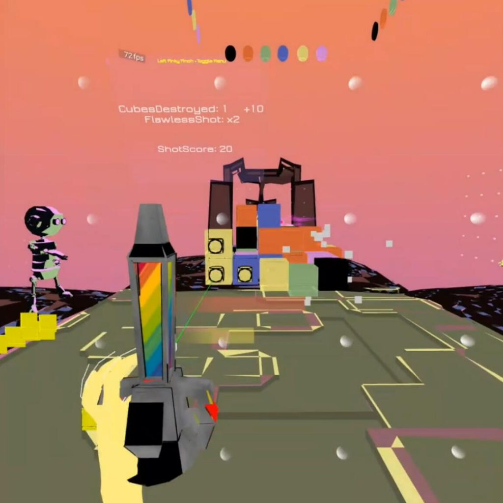 Oculus Quest游戏《Blockami VR》VR打砖块(Oculus Quest VR 手部追踪)插图(3)