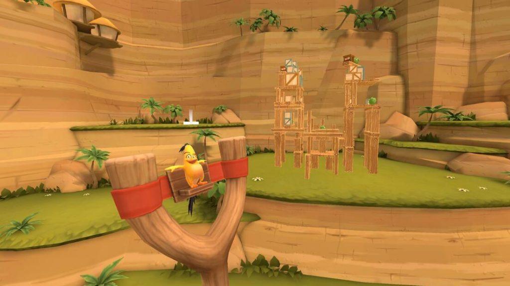 Oculus Quest 游戏《Angry Birds VR: Isle of Pigs》愤怒的小鸟VR:猪岛插图(1)
