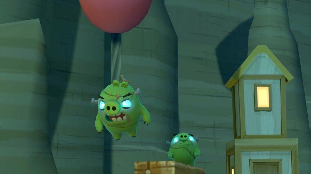 Oculus Quest 游戏《Angry Birds VR: Isle of Pigs》愤怒的小鸟VR:猪岛插图(2)
