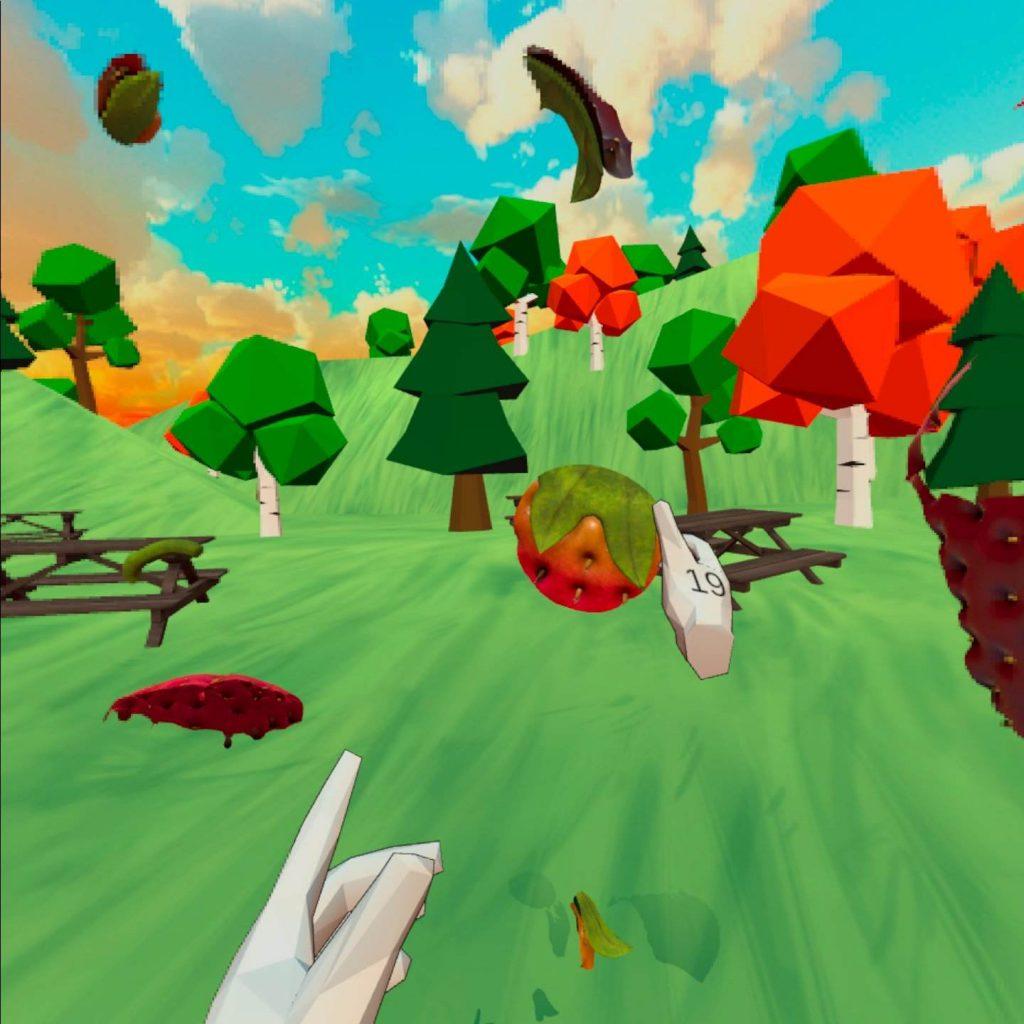 Oculus Quest 游戏《Peco Peco VR》卡通拼图插图(1)