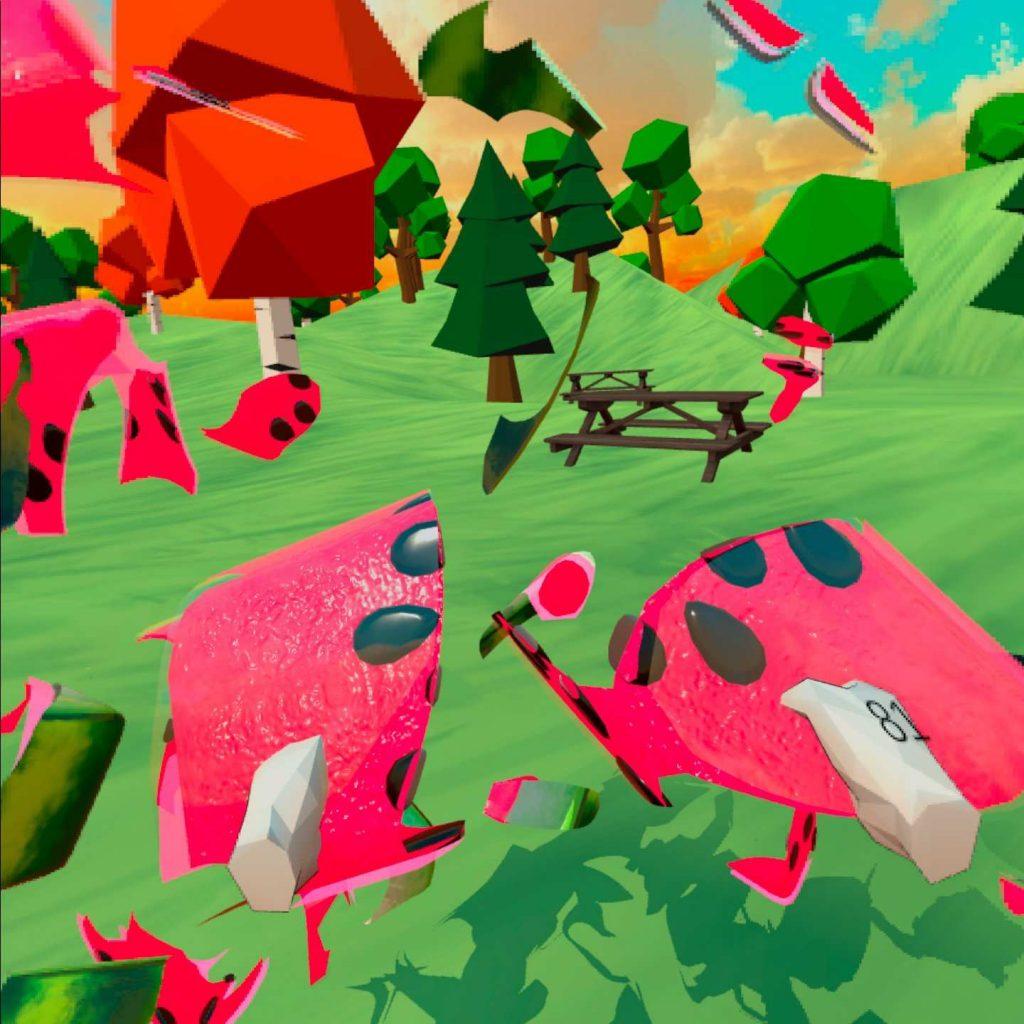 Oculus Quest 游戏《Peco Peco VR》卡通拼图插图(2)