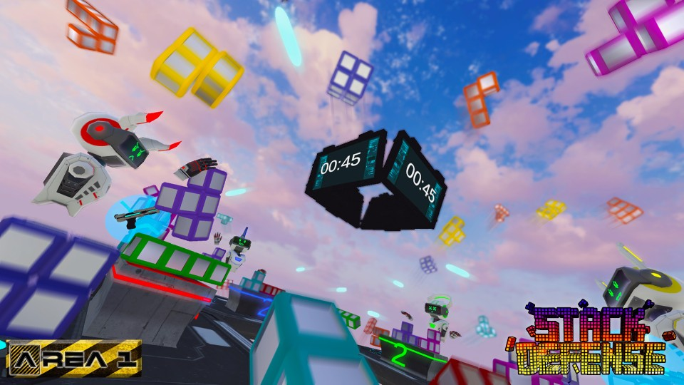 Oculus Quest 游戏《Stack Defense》堆栈防御插图(3)