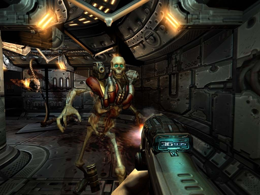 Oculus Quest 游戏《DOOM 3 Quest》毁灭战士 3插图(1)