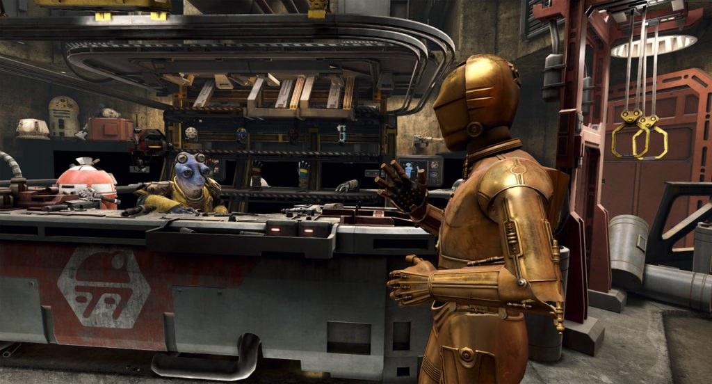 Oculus Quest 游戏《Star Wars:Tales from the Galaxy's Edge》星球大战:银河边缘的故事插图(2)