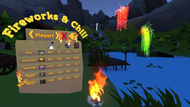 Oculus Quest游戏《Fireworks & Chill VR》烟花插图(2)