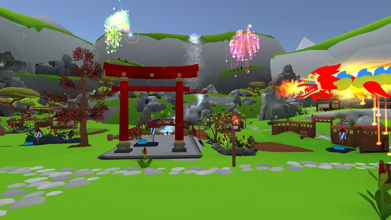 Oculus Quest游戏《Fireworks & Chill VR》烟花插图(4)