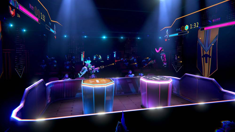 Oculus Quest 游戏《Blaston VR》赛博朋克插图(3)