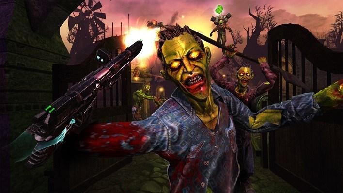 Oculus Quest 游戏《Drop Dead: Dual Strike Edition》打僵尸:双重打击插图