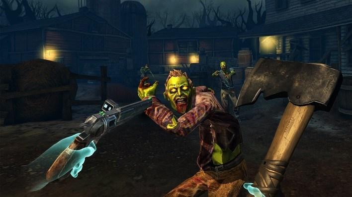 Oculus Quest 游戏《Drop Dead: Dual Strike Edition》打僵尸:双重打击插图(1)