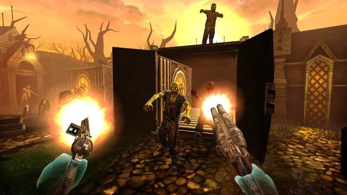 Oculus Quest 游戏《Drop Dead: Dual Strike Edition》打僵尸:双重打击插图(2)