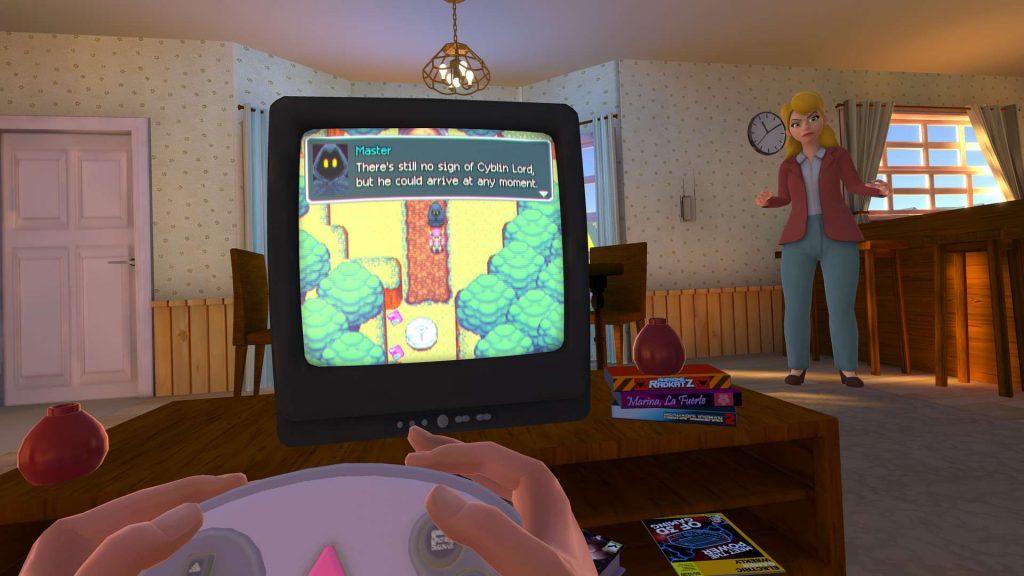 Oculus Quest 游戏《Pixel Ripped 1995》电子像素(怀旧模拟游戏)插图(1)