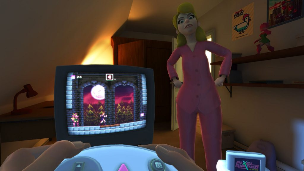 Oculus Quest 游戏《Pixel Ripped 1995》电子像素(怀旧模拟游戏)插图(2)