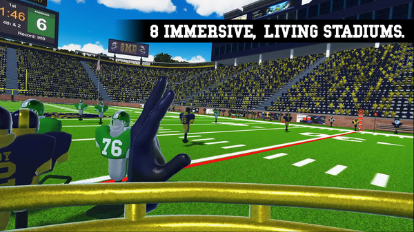 Oculus Quest 游戏《2MD: VR Football Unleashed》橄榄球插图(5)
