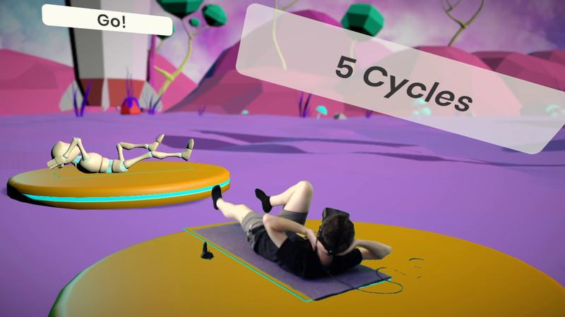Oculus Quest 游戏《RealFit》健身运动插图