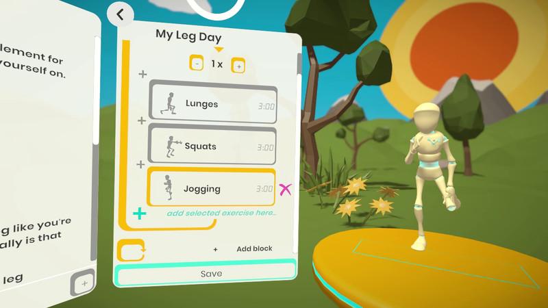 Oculus Quest 游戏《RealFit》健身运动插图(2)