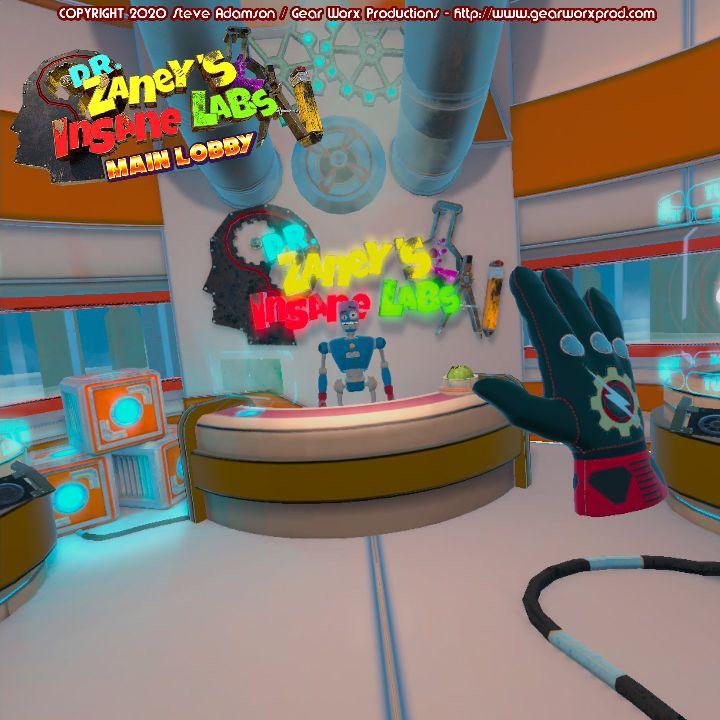 Oculus Quest 游戏《Dr Zaney's Insane Labs》疯狂实验室插图(2)