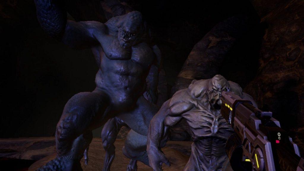 Oculus Quest 游戏《Bionic Hunter Reloaded》恐怖猎人插图
