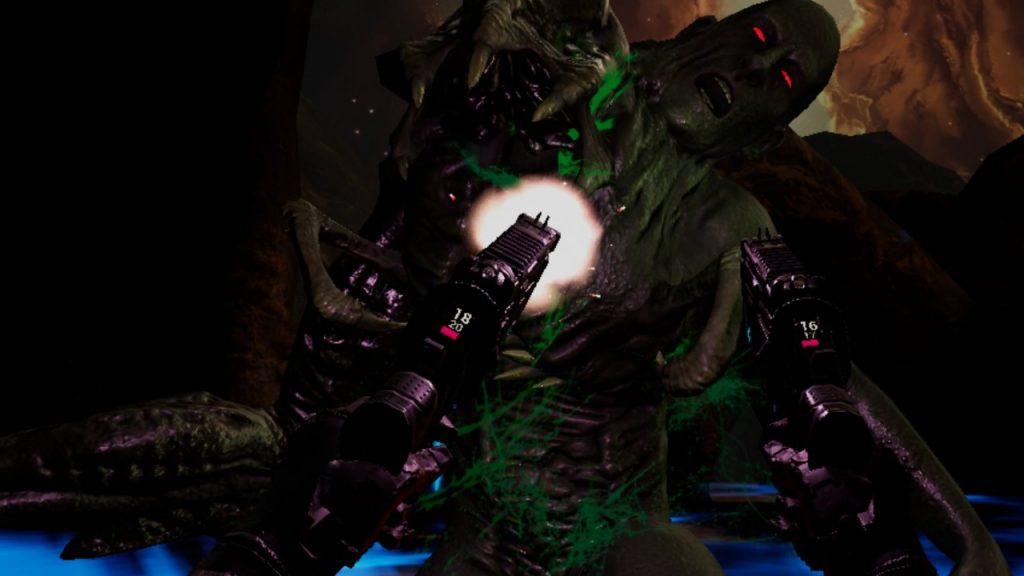 Oculus Quest 游戏《Bionic Hunter Reloaded》恐怖猎人插图(1)
