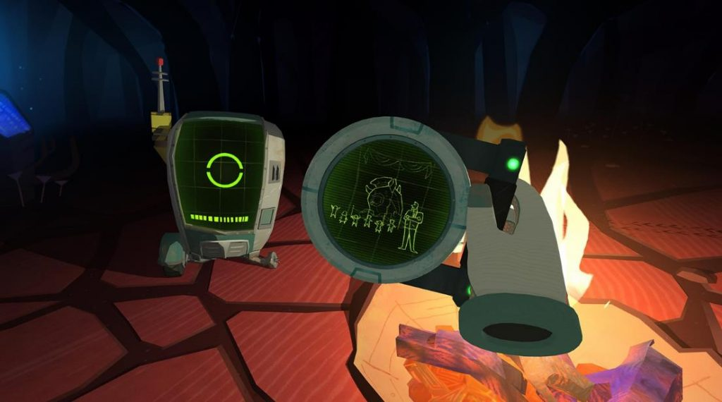 Oculus Quest 游戏《Bonfire》篝火插图
