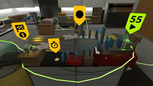 Oculus Quest版《Gadgeteer》多米诺游戏