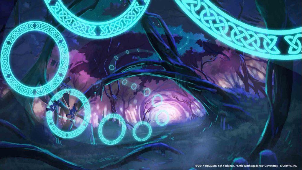 Oculus Quest 游戏《Little Witch Academia: VR Broom Racing》小魔女学园插图(2)