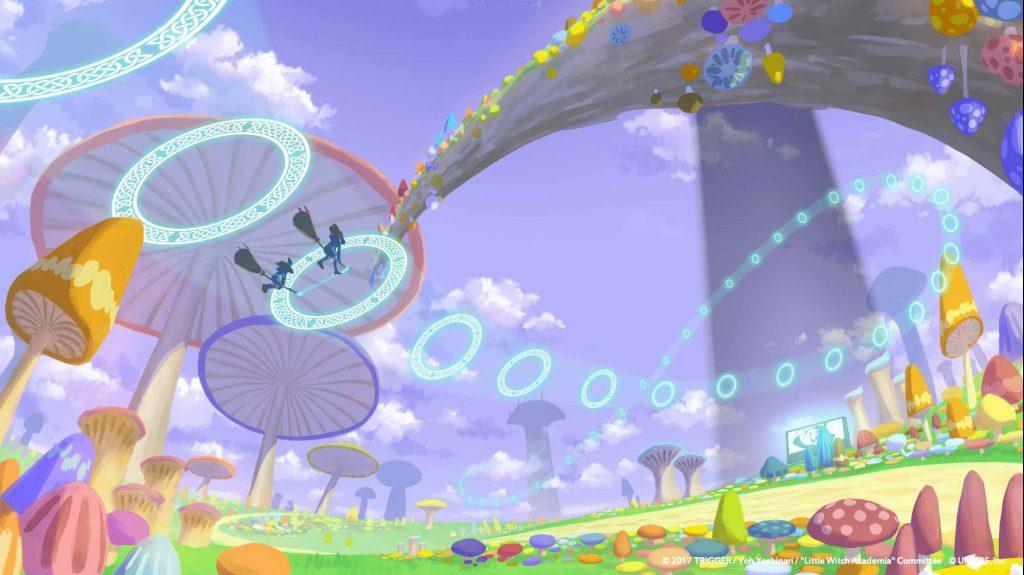 Oculus Quest 游戏《Little Witch Academia: VR Broom Racing》小魔女学园插图(3)