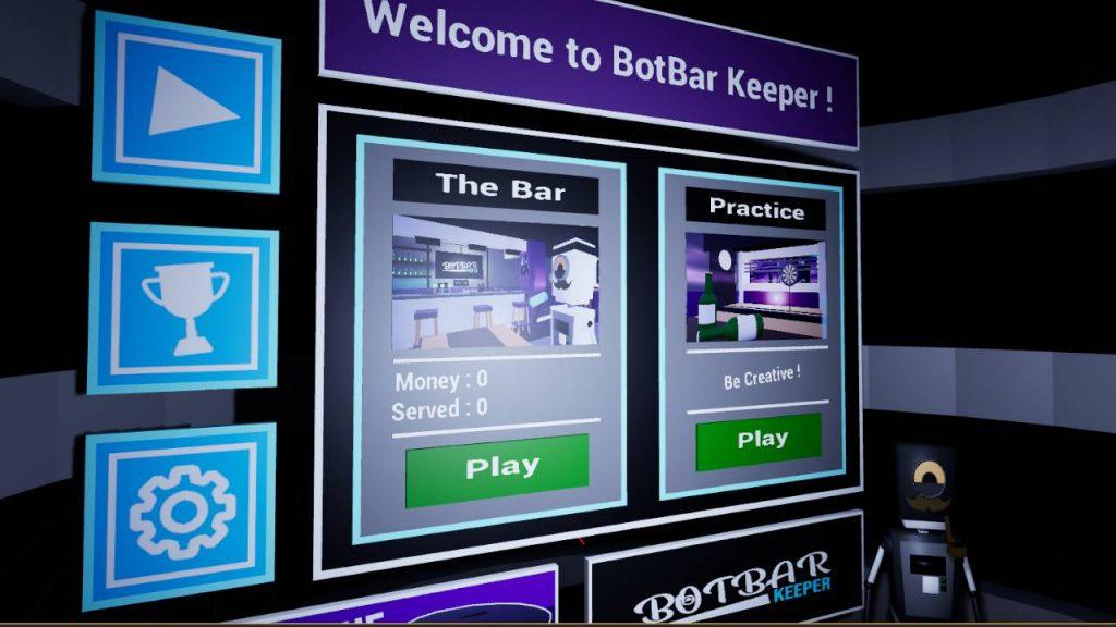 Oculus Quest 游戏《Bot Bar Keeper》酒吧模拟器插图