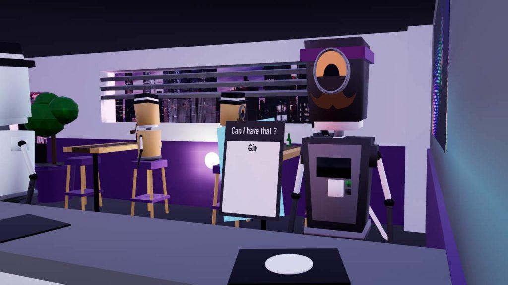 Oculus Quest 游戏《Bot Bar Keeper》酒吧模拟器插图(1)