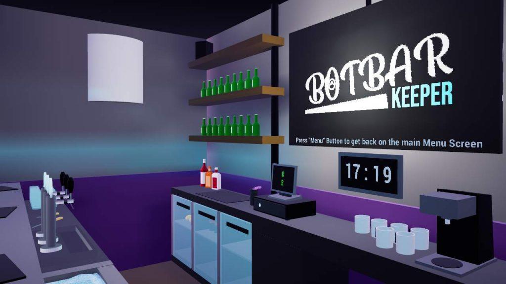 Oculus Quest 游戏《Bot Bar Keeper》酒吧模拟器插图(3)