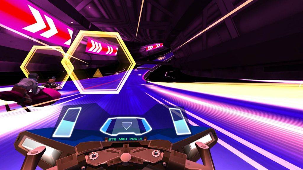 Oculus Quest 游戏《Void Racer Extreme》极限虚空赛车插图