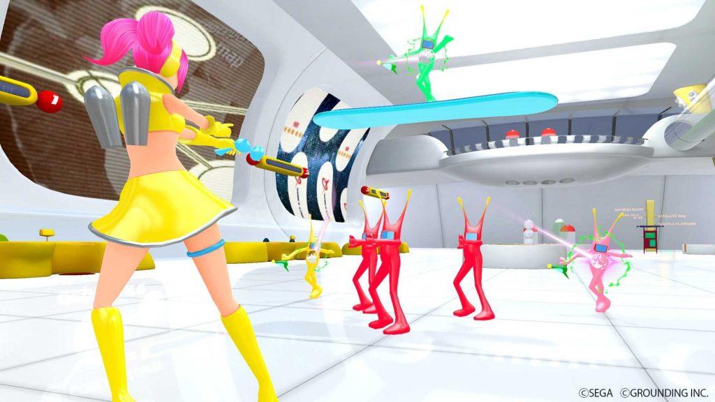 Oculus Quest 游戏《Space Channel 5 VR Kinda Funky News Flash》太空频道5插图