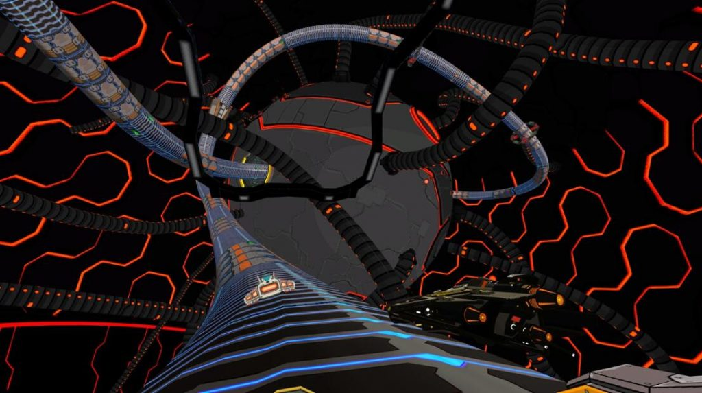 Oculus Quest 游戏《Radial-G: Proteus》管道赛车-VR科幻风格插图