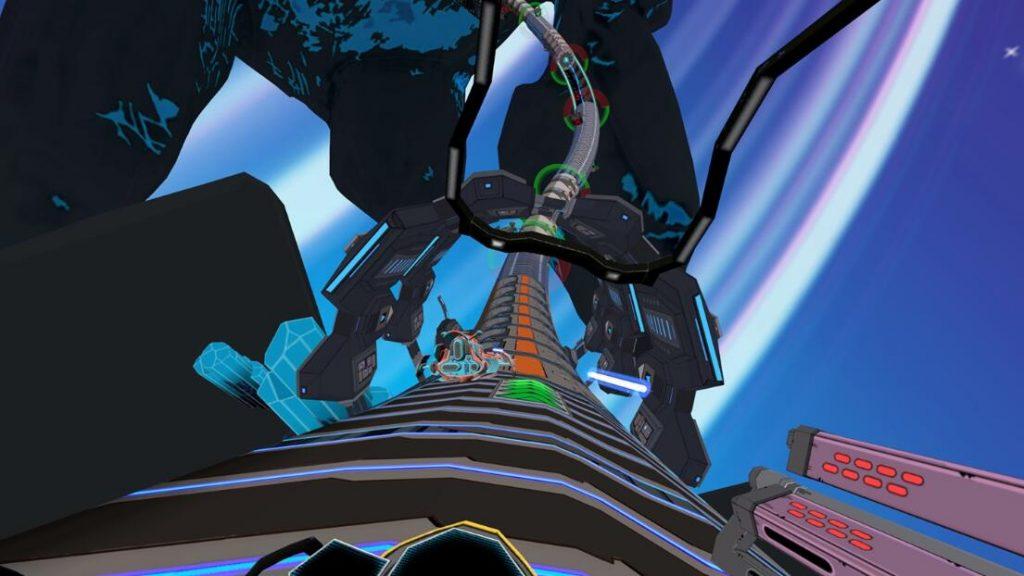 Oculus Quest 游戏《Radial-G: Proteus》管道赛车-VR科幻风格插图(1)