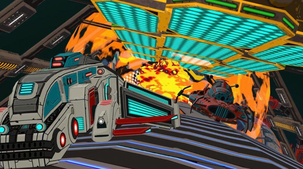 Oculus Quest 游戏《Radial-G: Proteus》管道赛车-VR科幻风格插图(3)