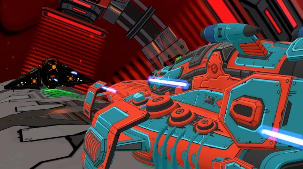Oculus Quest 游戏《Radial-G: Proteus》管道赛车-VR科幻风格插图(4)