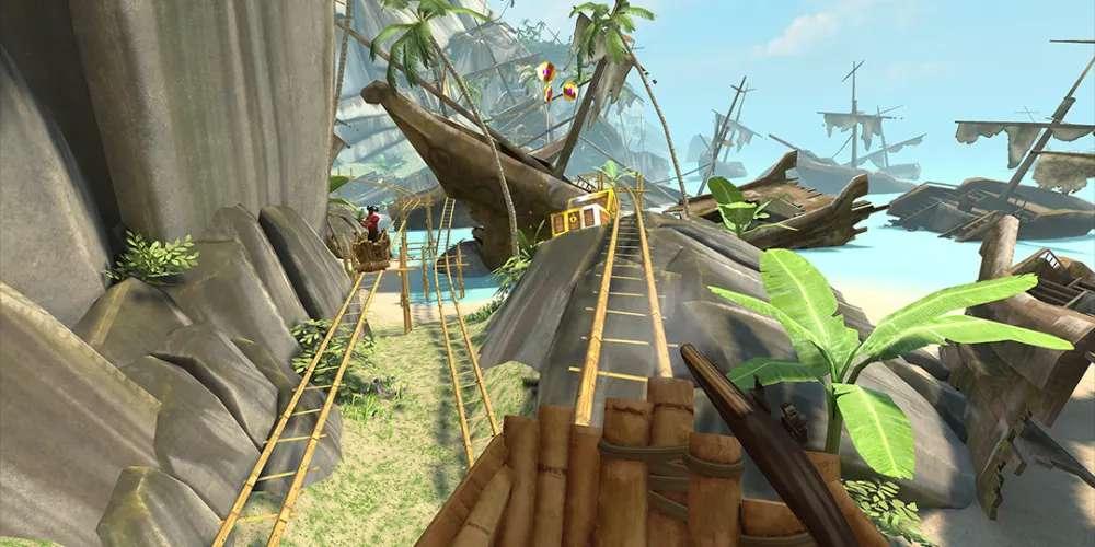 Oculus Quest 游戏《Coaster Combat》云霄飞车插图
