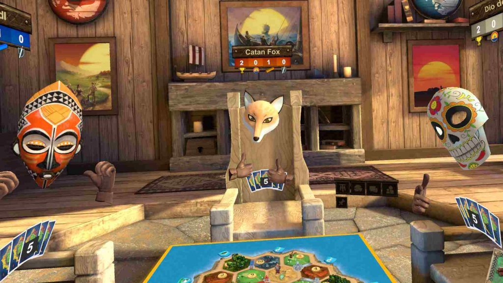 Oculus Quest 游戏《Catan VR》卡坦岛VR插图