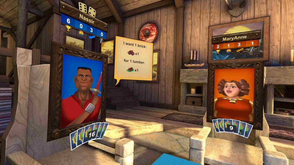 Oculus Quest 游戏《Catan VR》卡坦岛VR插图(1)