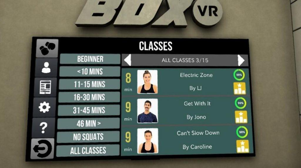 Oculus Quest版 BOXVR 节奏拳击