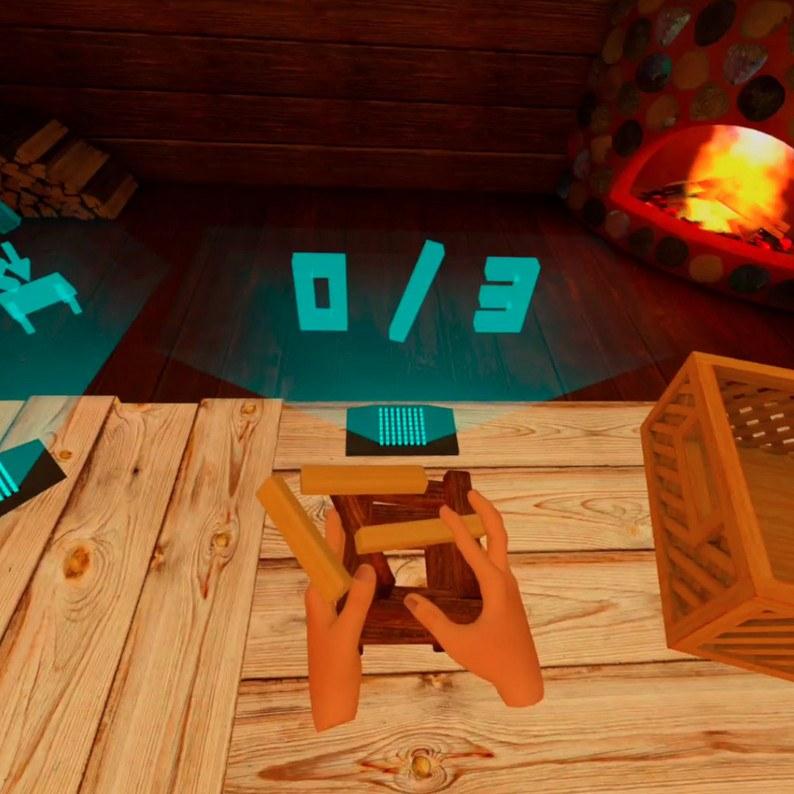 Oculus Quest 游戏《Fingers: Mini Games》迷你手控插图(1)