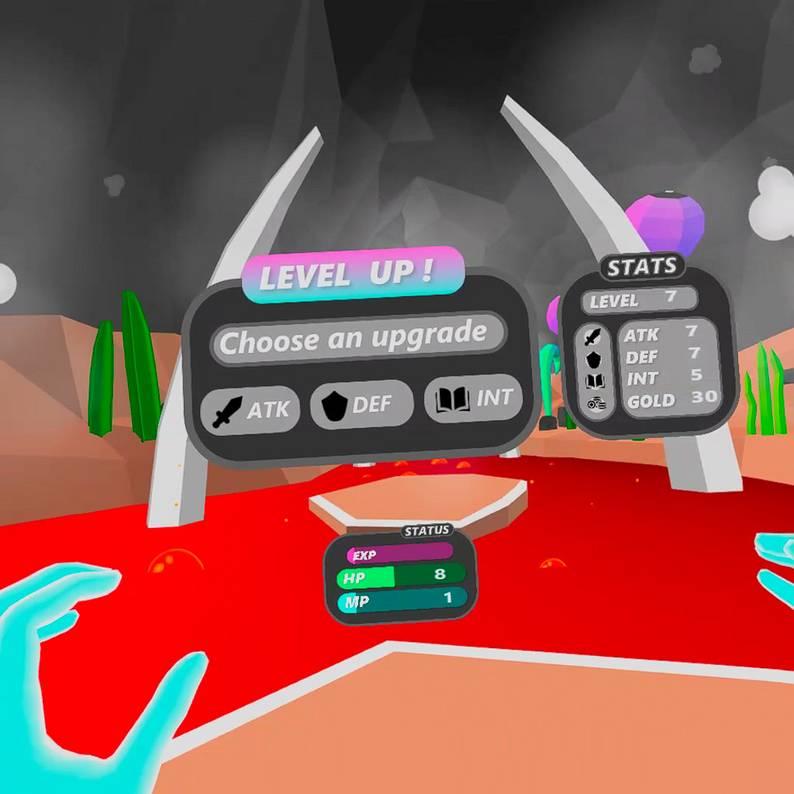Oculus Quest 游戏《Hand Spell VR》手势魔法VR插图