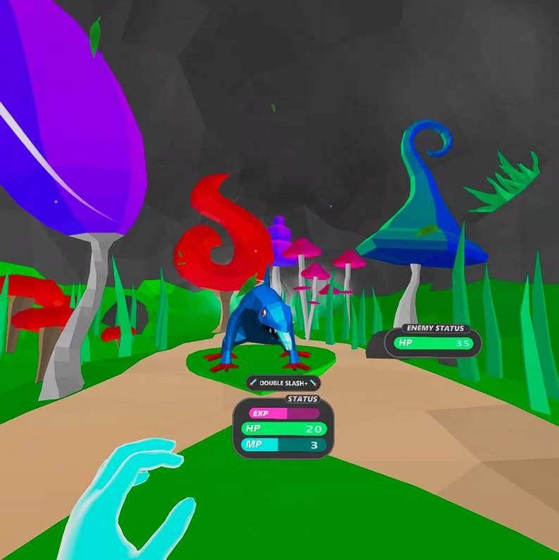Oculus Quest 游戏《Hand Spell VR》手势魔法VR插图(1)