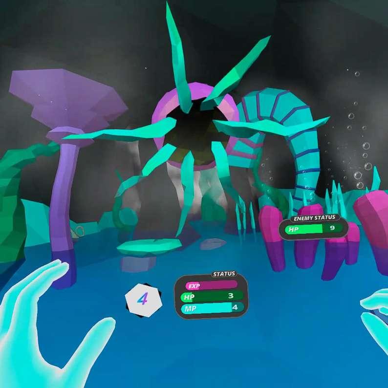 Oculus Quest 游戏《Hand Spell VR》手势魔法VR插图(2)