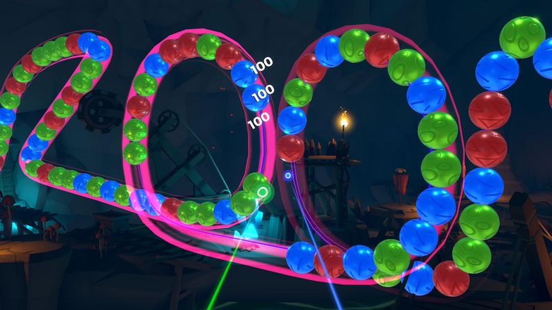 Oculus Quest 游戏 《Zooma: Deluxe Edition》祖玛:豪华版插图(3)