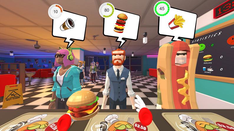Oculus Quest 游戏《Seps Diner》汉堡餐厅插图(3)