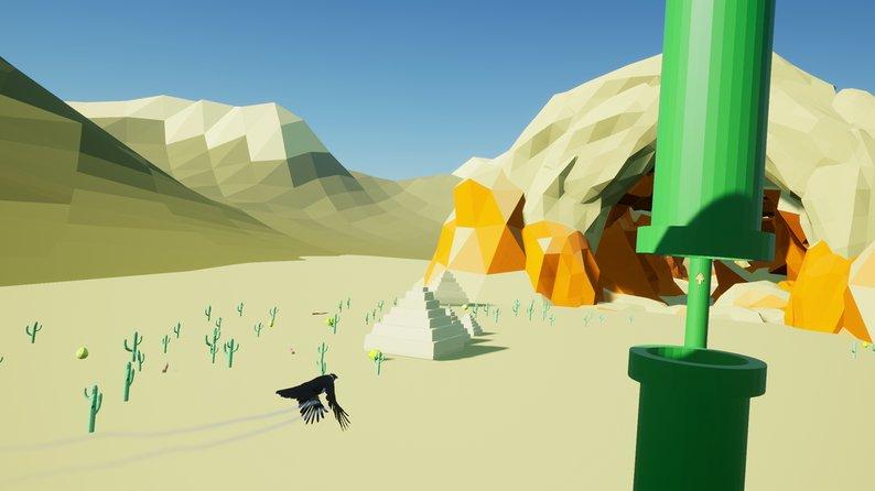 Oculus Quest 游戏《Flappy Flappy VR》像素小鸟插图(2)