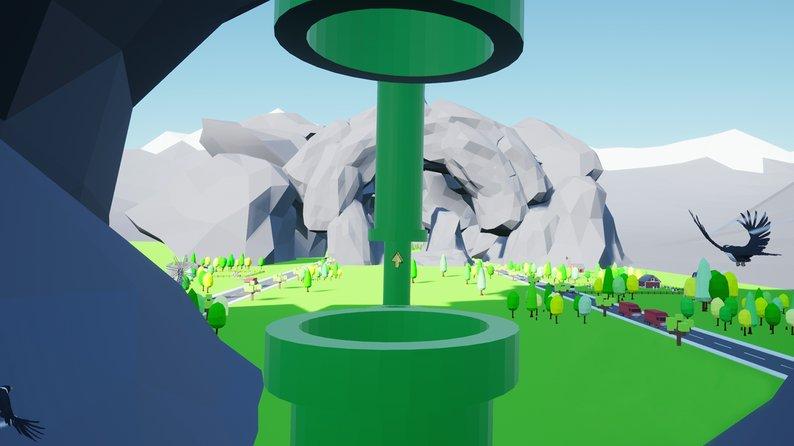 Oculus Quest 游戏《Flappy Flappy VR》像素小鸟插图(3)