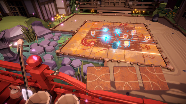 Oculus Quest 游戏《Tsuro The Game of The Path》造路游戏VR插图(2)
